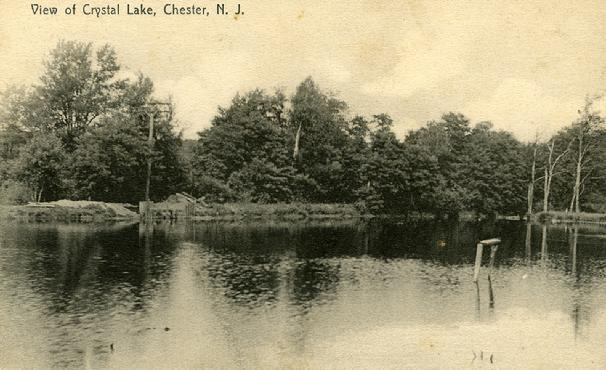 Crystal Lake, Black River, Chester, NJ ~ 1907